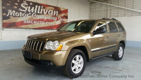 2009 Jeep Grand Cherokee Laredo 4.7L V8 GOLD for sale