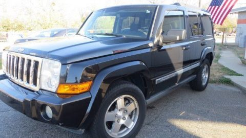 2010 Jeep Commander Black Sweet Rides LLC Greer for sale