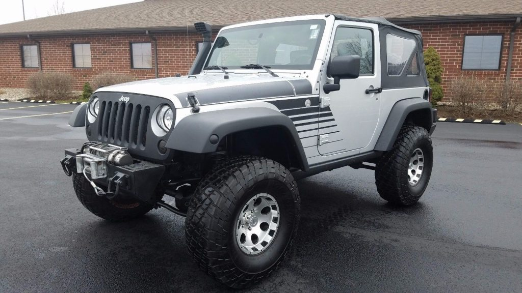 2010 Jeep Wrangler Sport Lifted