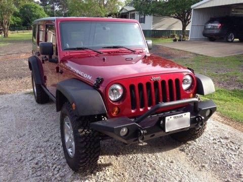 2011 Jeep Wrangler Unlimited Rubicon Sport Utility 4-Door for sale