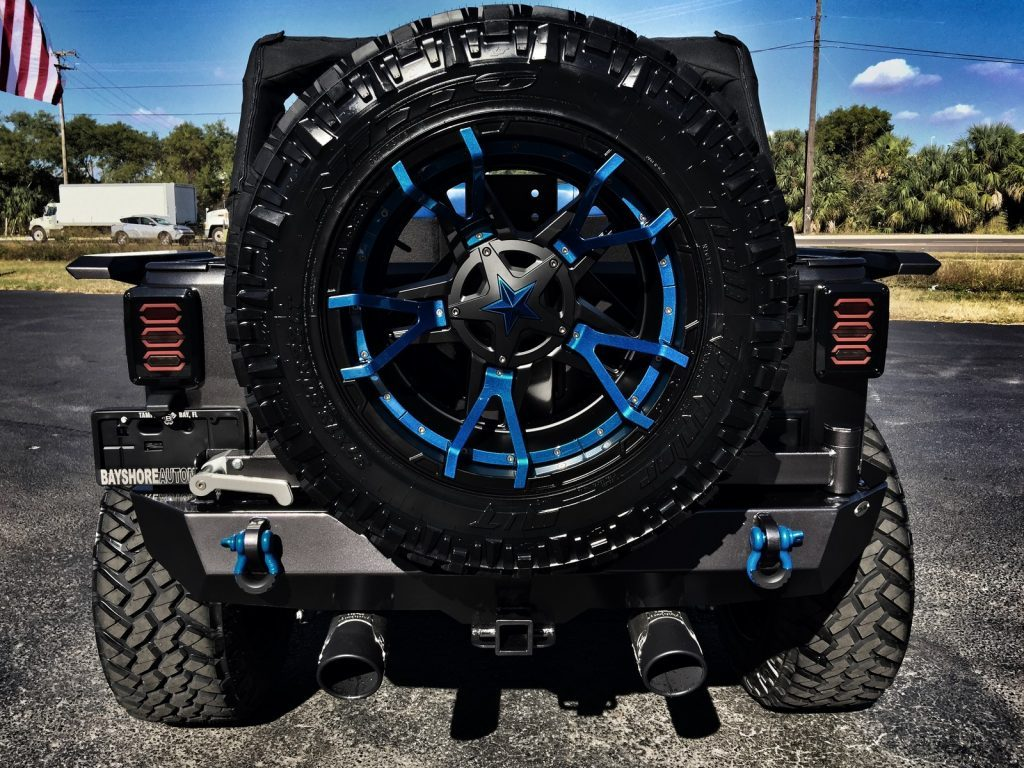 2016 Jeep Wrangler Custom Grumper Leather Hardtop