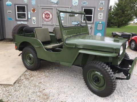 1948 Jeep Willys CJ2A for sale