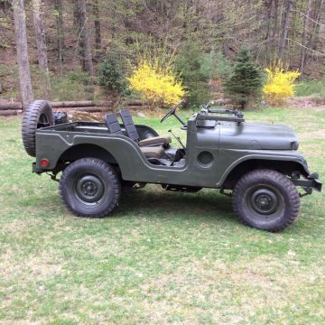1952 Willys Army Jeep M38A1 for sale