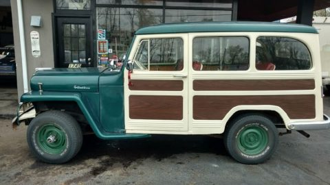 1956 Jeep Willys Chevy 350 V8 crate motor for sale