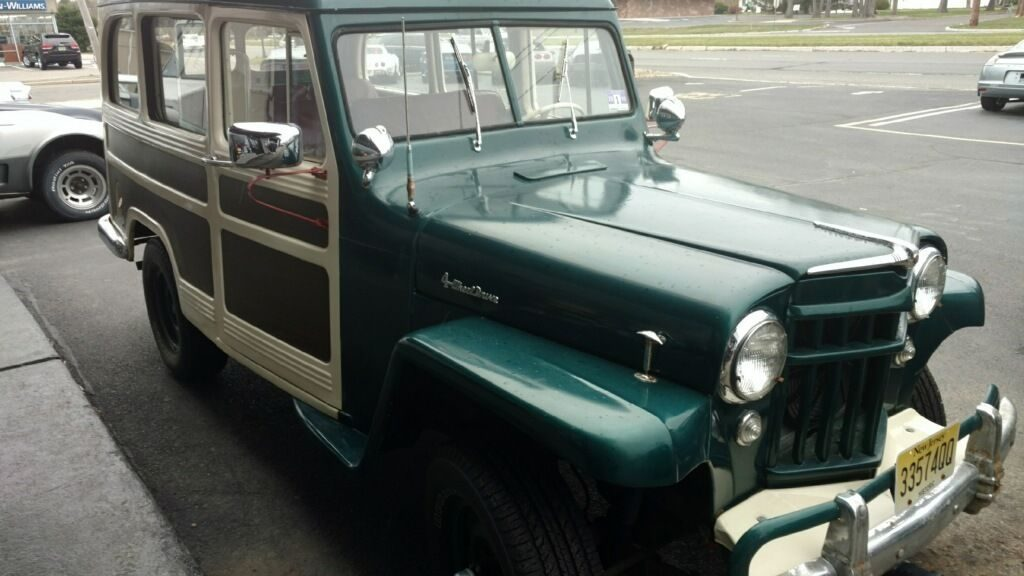 1956 Jeep Willys Chevy 350 V8 crate motor