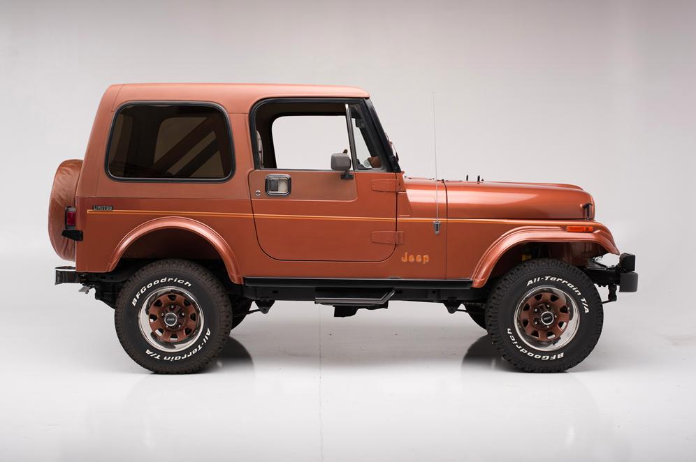 1983 Jeep Cj-7 Limited Edition