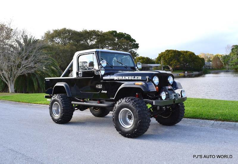 1984 Jeep Scrambler 5.7L V8 5-speed Manual!