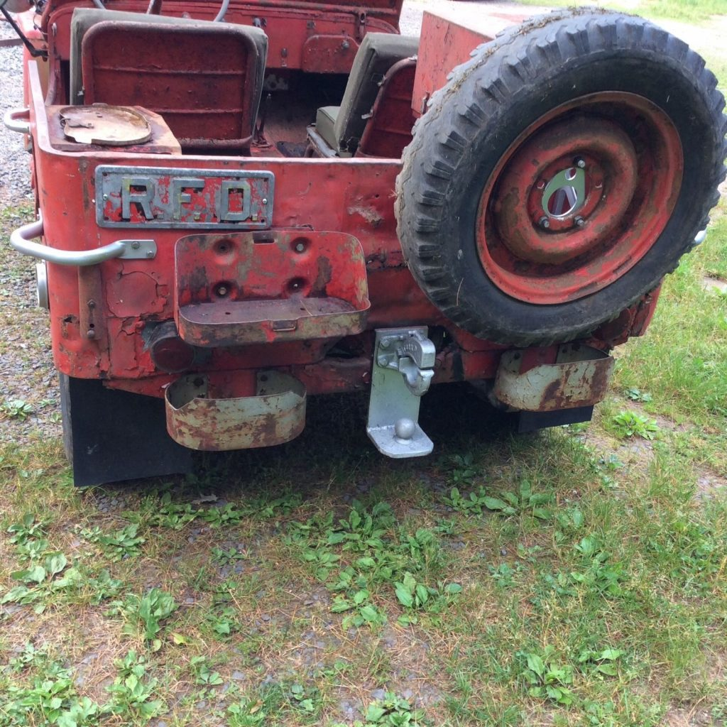 1943 WILLYS MB fire Jeep for restoration military