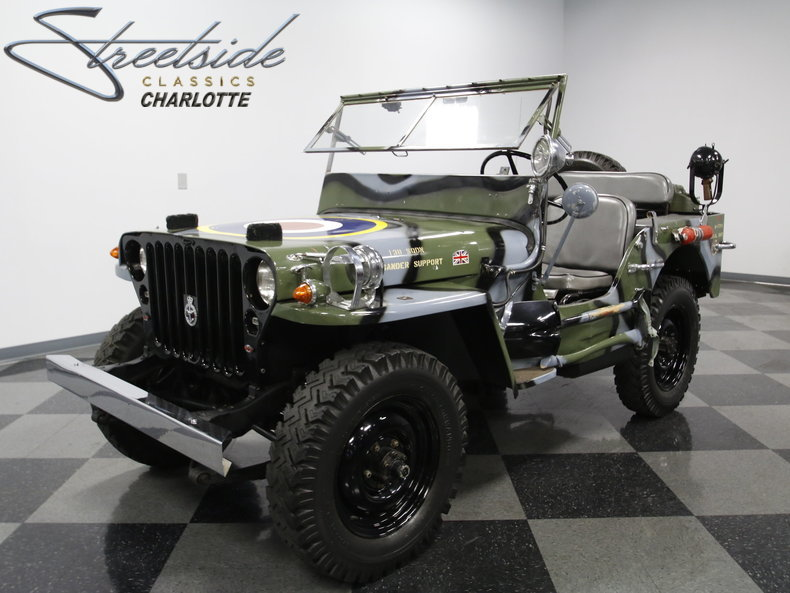 1945 Willys Mb Military Jeep For Sale
