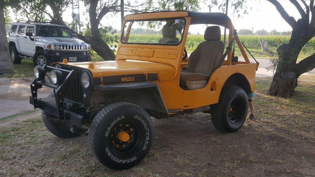 1947 Willys Jeep CJ-A2