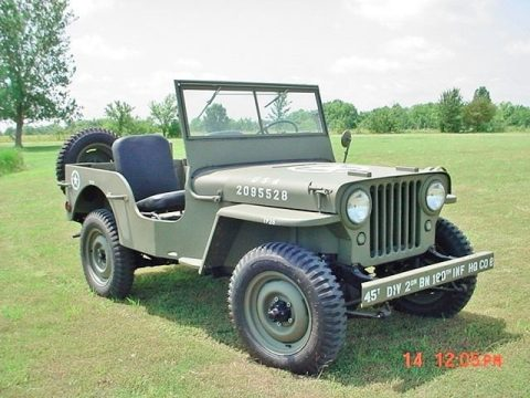 1947Jeep Willys CJ Military for sale