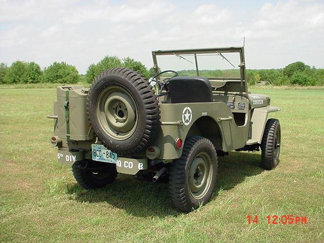 1947Jeep Willys CJ Military