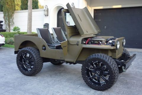 1948 Willys Cj-2a Willy's for sale
