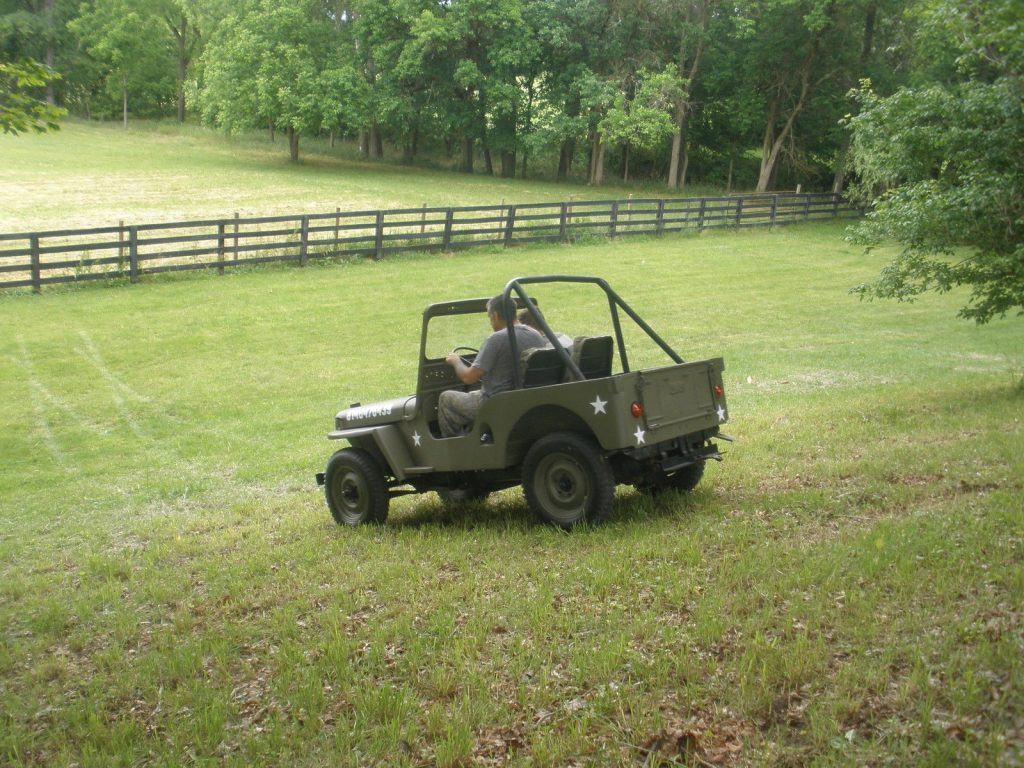 1950 Willys 1950 jeep cj3a Militray style