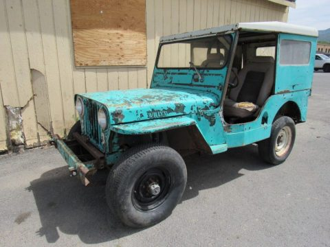 1950 Willys Jeep for sale