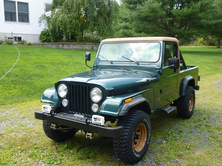 1983 Jeep CJ Scrambler