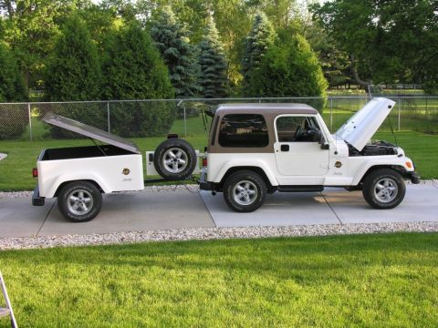 1997 Jeep Wrangler Sahara with Matching Trailer for sale