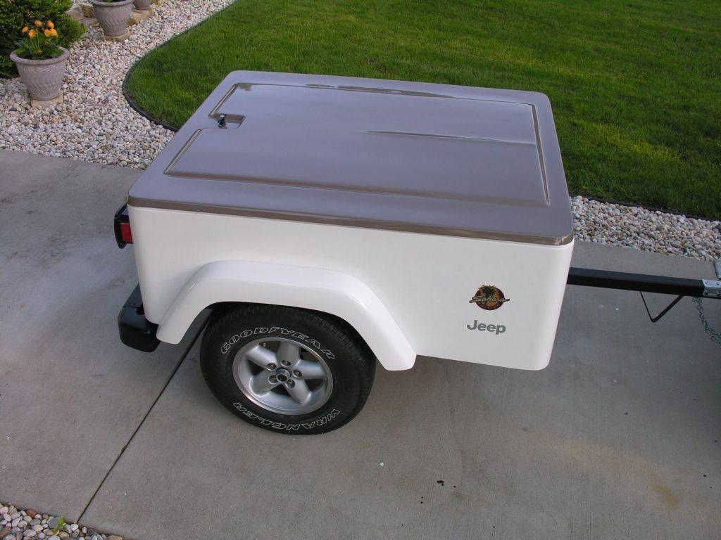 1997 Jeep Wrangler Sahara with Matching Trailer