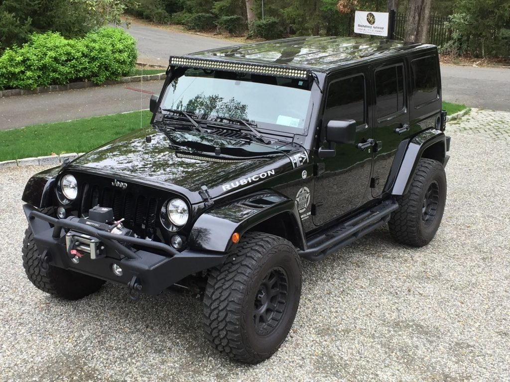 2015 Jeep Wrangler Rubicon Black Loaded With Many Extras Ready