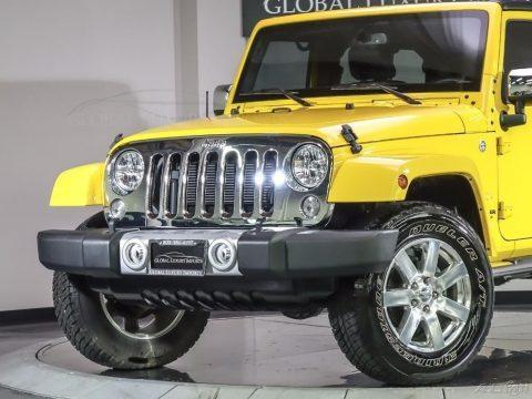 2015 Jeep Wrangler Unlimited Sahara Used 3.6L V6 24V Manual for sale