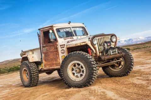 1949 Jeep Willys Pickup Rock Crawler Jp Magazine's Wicked Willys for sale
