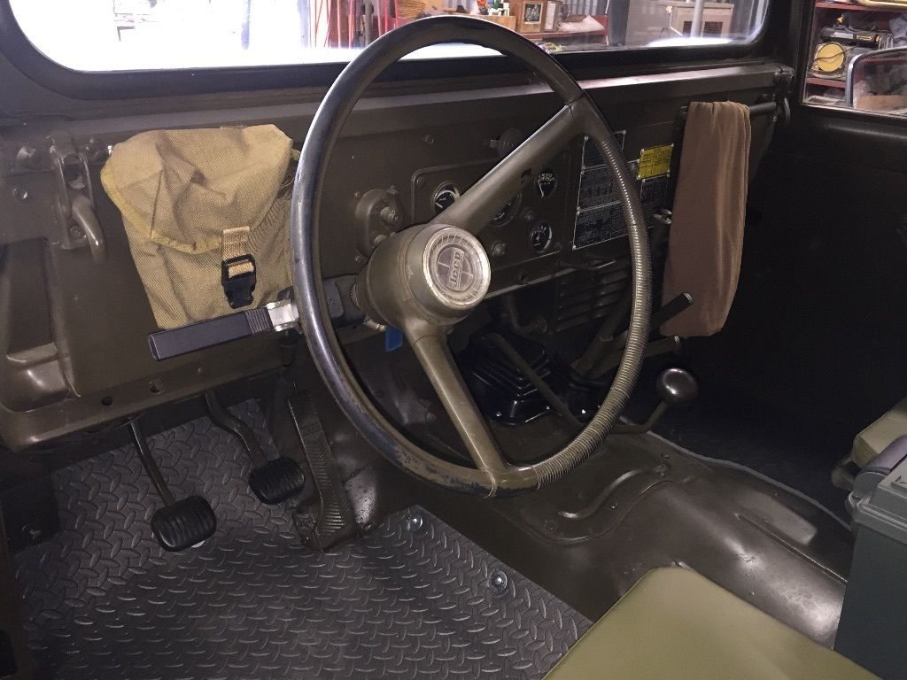 1967 Jeep Willys m715 Full Military trim