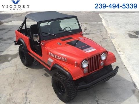 1979 Jeep CJ-7 Renegade 1 Miles Red 4.2L for sale