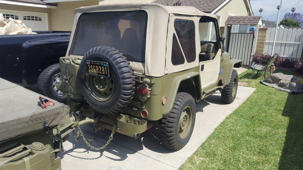 1997 Jeep Wrangler Se-custom Army