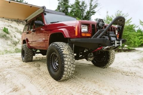 1999 Jeep Cherokee LOW MILE Fresh Overland Build OUTSTANDING for sale