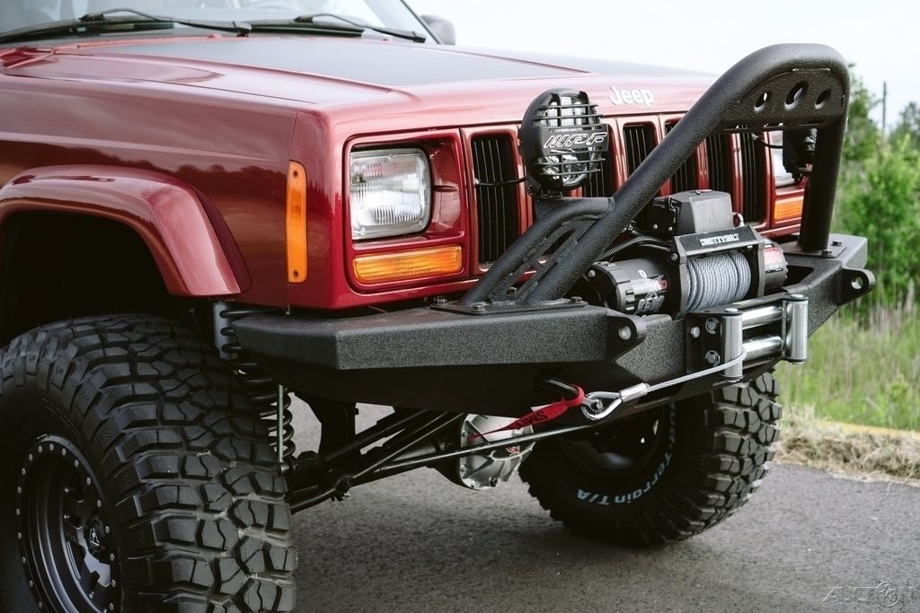 1999 Jeep Cherokee LOW MILE Fresh Overland Build OUTSTANDING