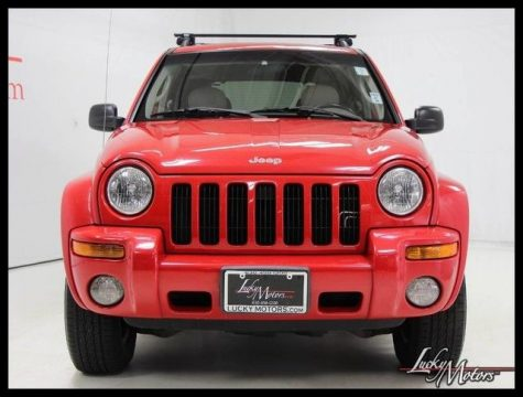 2002 Jeep Liberty Limited 4WD Clean Carfax! for sale