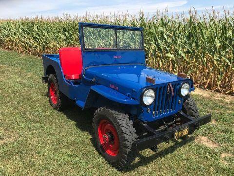1946 Willys CJ2A Jeep for sale