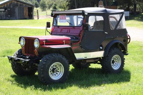 1948 Jeep CJ2 for sale
