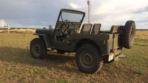 1948 Jeep Willys in excellent shape for sale