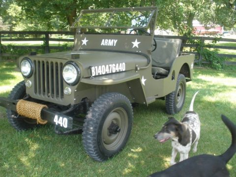 1950 Jeep Willys 1950 CJ3A Militray style for sale
