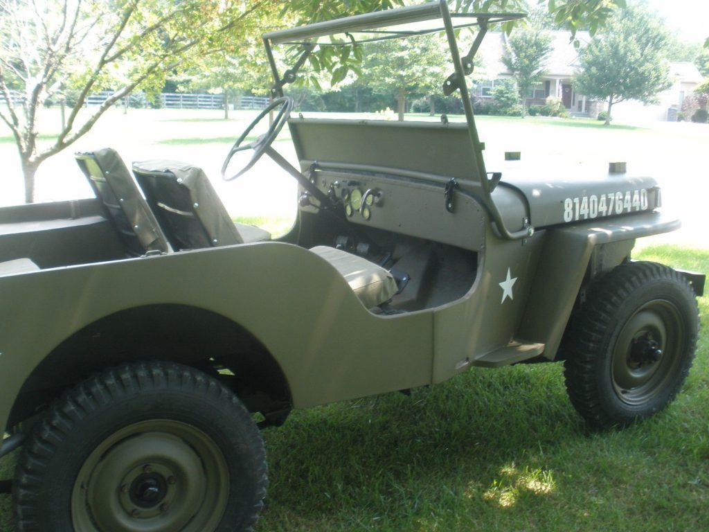 1950 Jeep Willys 1950 CJ3A Militray style