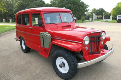 1956 Willys Jeep Wagon for sale