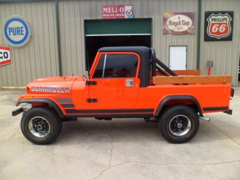 1982 Jeep Scrambler 4WD FRESH FRAME OFF Engine 4.2L/258 for sale