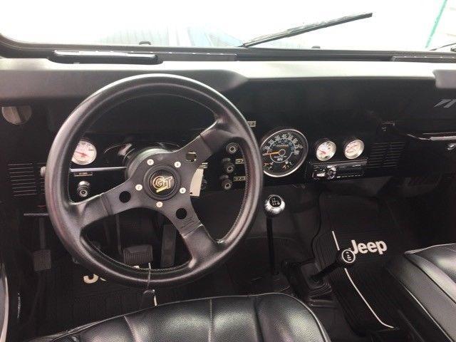1984 Jeep CJ-7 Renegade 133,461 Miles Black 2.5L L4 OHV Automatic