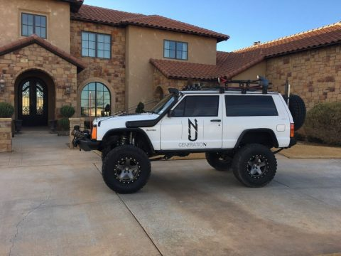 1995 Jeep Cherokee XJ fully built 20k invested for sale