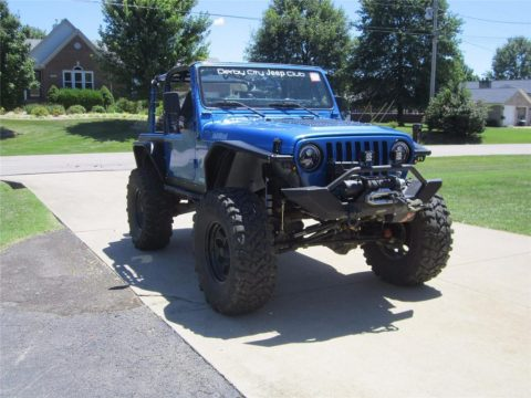 2002 Jeep Wrangler Offroad Ready – Heavily Modified Custom Axles – ARB for sale