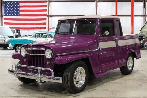 1950 Jeep Willys 1252 Miles Purple SUV 327 V8 Automatic for sale