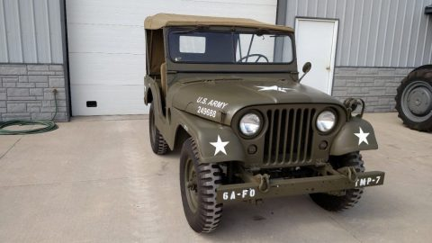 1953 Willys Jeep army for sale