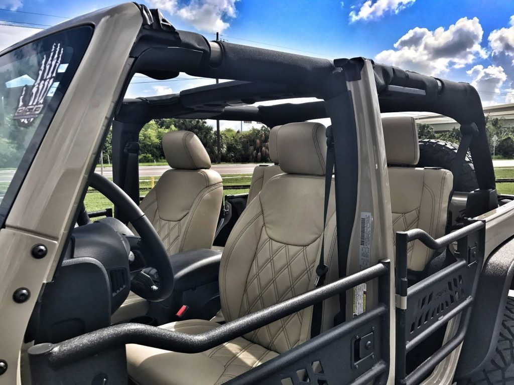 2017 Jeep Wrangler Custom Lifted 24S GOBI Leather 37s