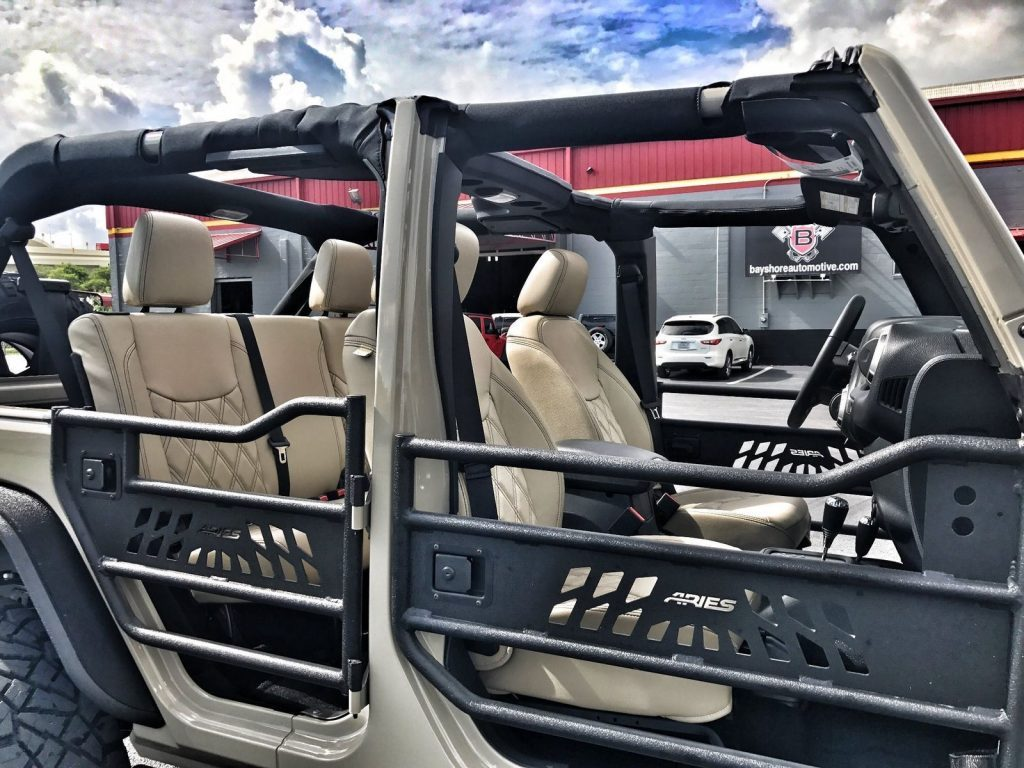 2017 Jeep Wrangler Custom Lifted 24S GOBI Leather 37s