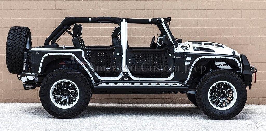 2017 Jeep Wrangler Custom Unlimited Sport Utility 4-Door