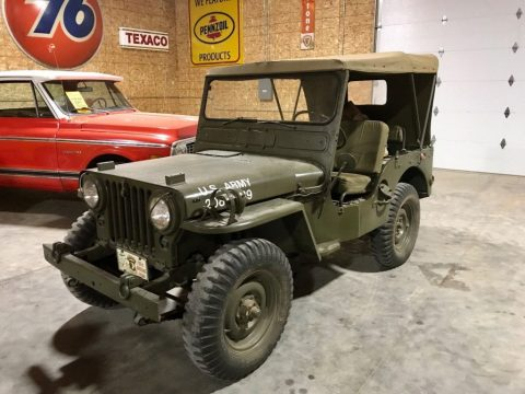 1951 Willys MC38 4×4 army Jeep for sale
