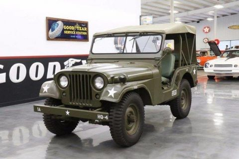 1954 Willys Jeep M38-A1 real deal Army Jeep for sale
