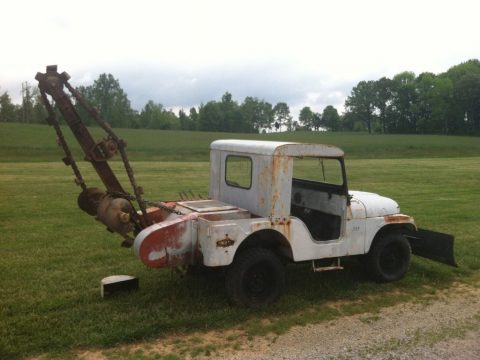 1957 Jeep Willys CJ 3 Jeep a Trench for sale