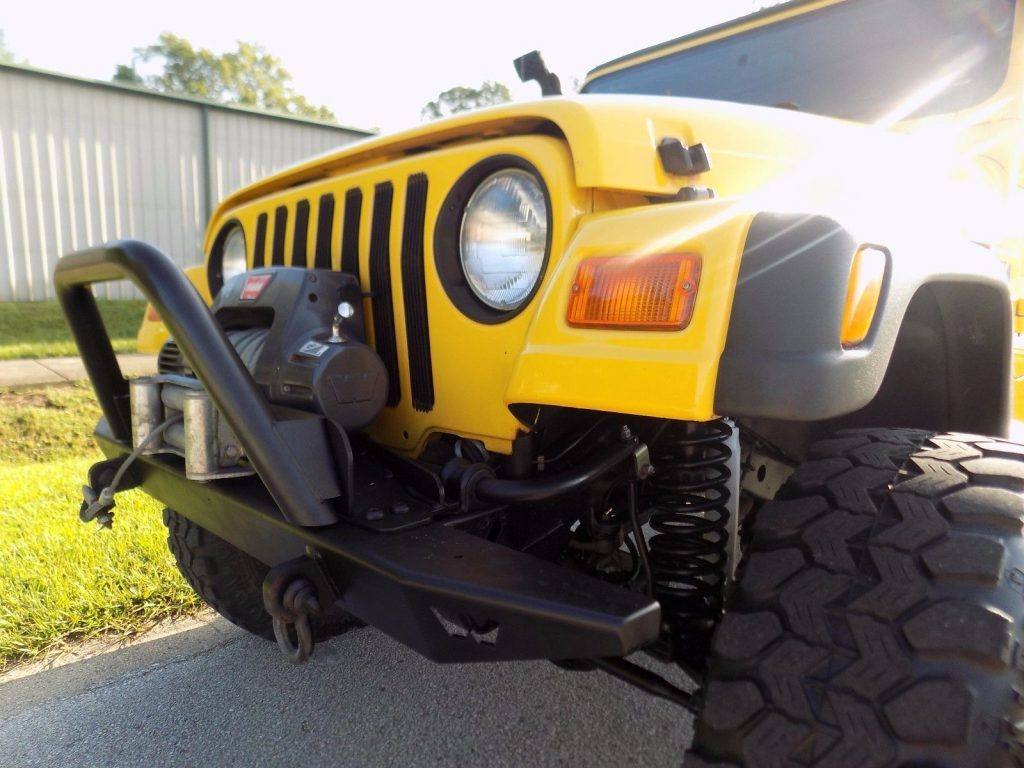 2002 Jeep Wrangler 4×4 only 59 k miles Ready for the off road